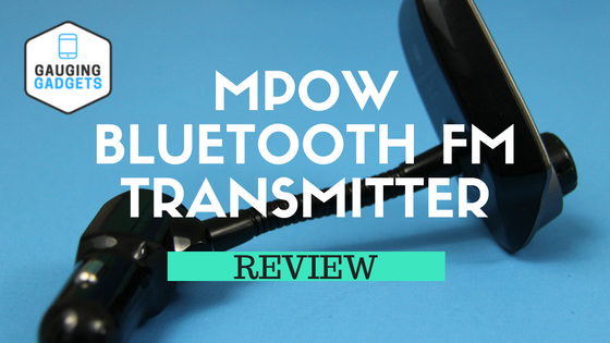 mpow bluetooth fm transmitter