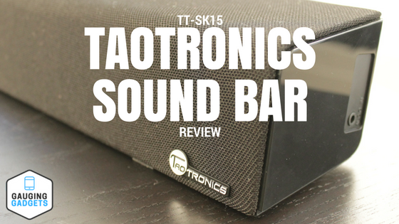 taotronics sound bar blog