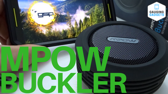 mpow buckler bluetooth speaker