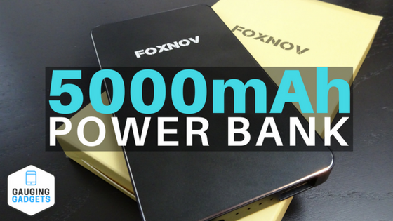 FOXNOV 5000mAh Power Bank
