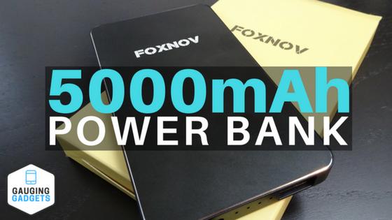 FOXNOV 5000mAh Power Bank