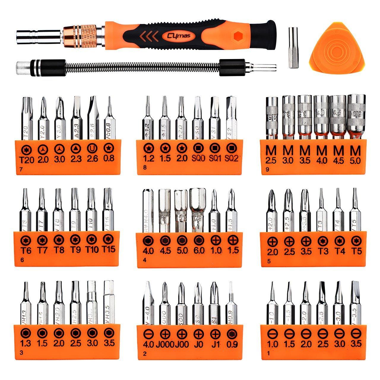 cymas screwdriver set for phone 25 off promo code gauging gadgets. Black Bedroom Furniture Sets. Home Design Ideas