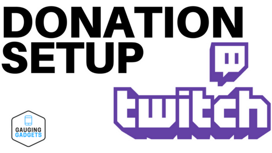 Setup Twitch Donations Tutorial