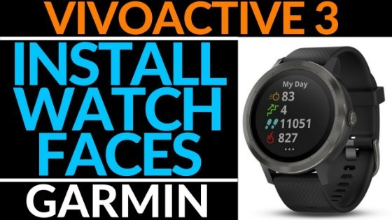 Garmin Vivoactive 3 Install Watch Faces