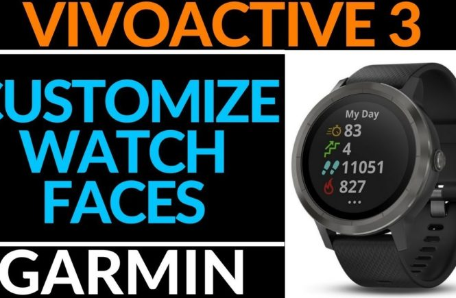 Garmin Vivoactive 3 Custom Watch Face Tutorial