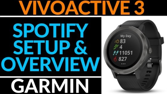 How to Setup Spotify on Garmin Vivoactive 3