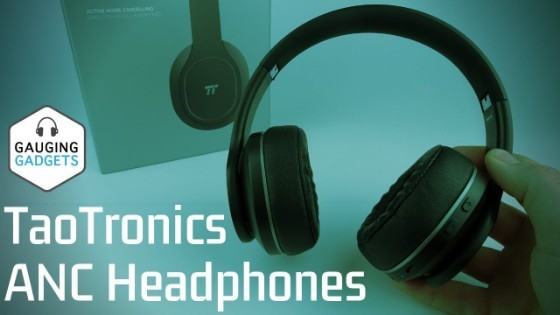 TaoTronics ANC Headphones Review - Foldable Active Noise Cancelling Headphones