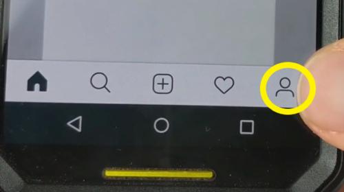 Change Instagram to Creator Account Profile Icon