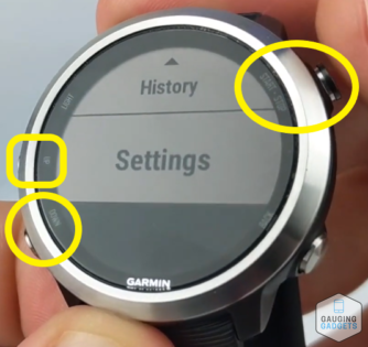 Connect to wifi network Garmin Forerunner 645 Tutorial Settings