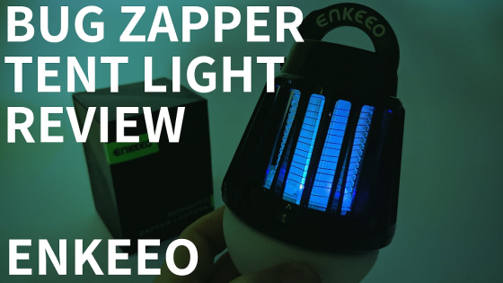 ENKEEO 2 in 1 Camping Lantern Bug Zapper Tent Light Review