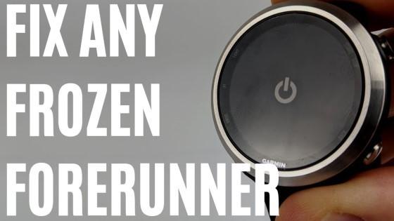 Fix Any Frozen Forerunner