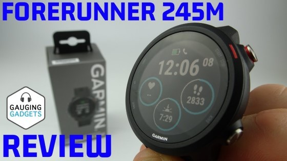 Garmin Forerunner 245 Music Review and Unboxing - One Day First Impressions