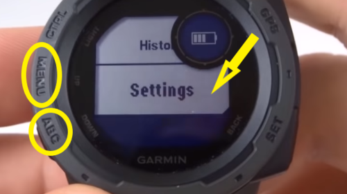 Garmin Instinct Accessing System Settings.jpg