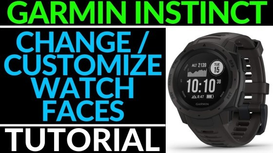 Custom Watch Face Tutorial Garmin Instinct