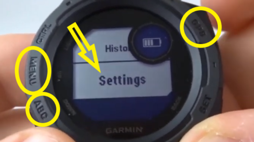Heart Rate Monitor On Off Garmin Instinct Tutorial Settings