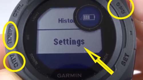 How to Customize Widges Garmin Instinct Tutorial Access Settings