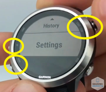 How to Turn Heart Rate Monitor On Off Garmin Forerunner 645 Tutorial Settings