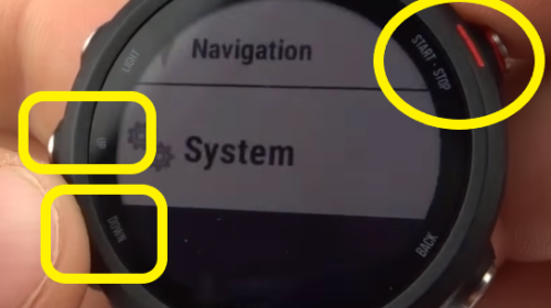 System Settings Overview - Garmin Forerunner 245 Tutorial Access.jpg
