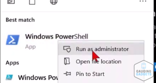 Windows Defender PowerShell