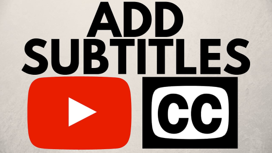 Add subtitles to a youtube video studio beta 2019