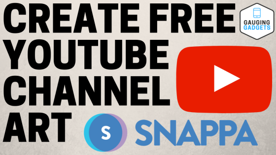 FI - Create FREE YouTube channel art - snappa
