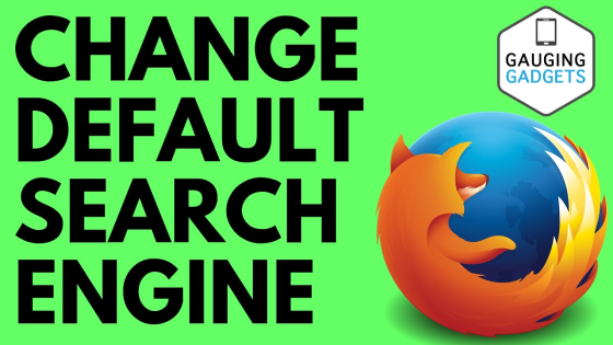 Firefox change default search engine settings how to tutorial