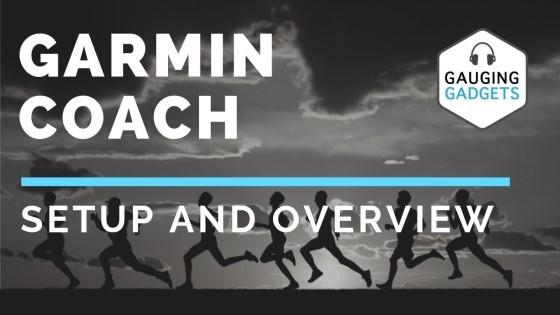 Garmin Coach Setup, Demo, and Overview - Forerunner, Fenix, Vivoactive