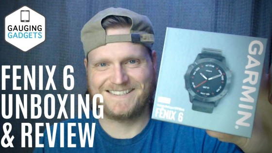 Garmin Fenix 6 Review and Unboxing - One Day First Impressions