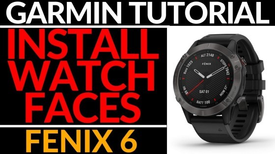How to Install Watch Face Garmin Fenix 6