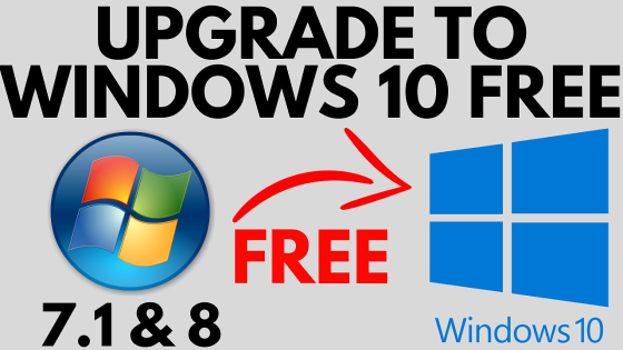How to Upgrade Windows 7 to Windows 10 for FREE - 2019 - Windows 10 Install