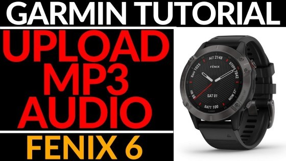 How to Upload Music to Your Fenix 6 - MP3, Podcast, Audiobook