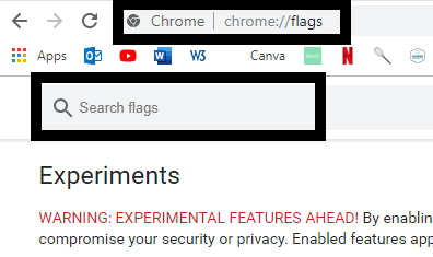 how to add a custom theme Google Chrome enabled settings