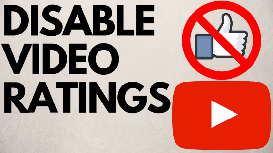 turn off YouTube likes and dislikes disable