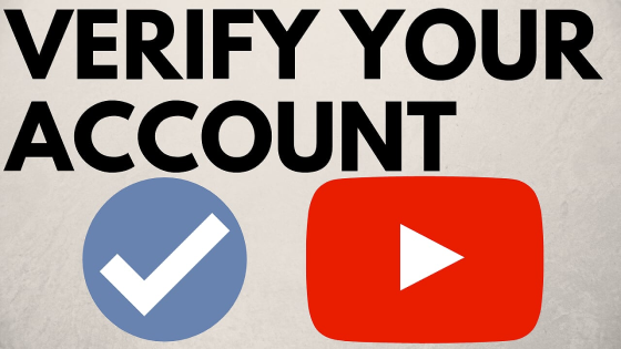 verify YouTube channel account get verified