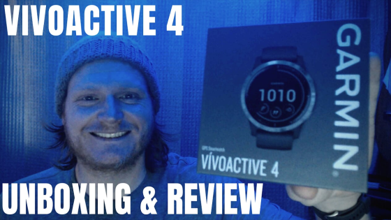 Garmin Vivoactive 4 Review and Unboxing test