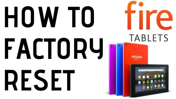 How to factory reset amazon fire tablet forgot password reset
