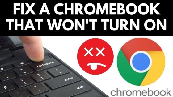 How to fix a chromebook that wont turn on