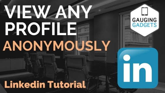 View Any LinkedIn Profile Anonymously - No LinkedIn Login Required - Linkedin Tutorial