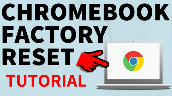factory reset chromebook power wash wipe
