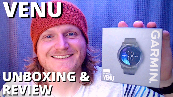 Garmin Venu review and unboxing