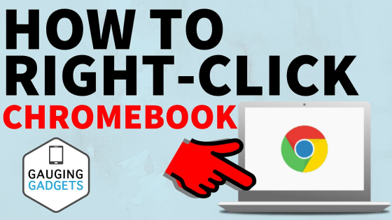 how to right click chromebook tutorial