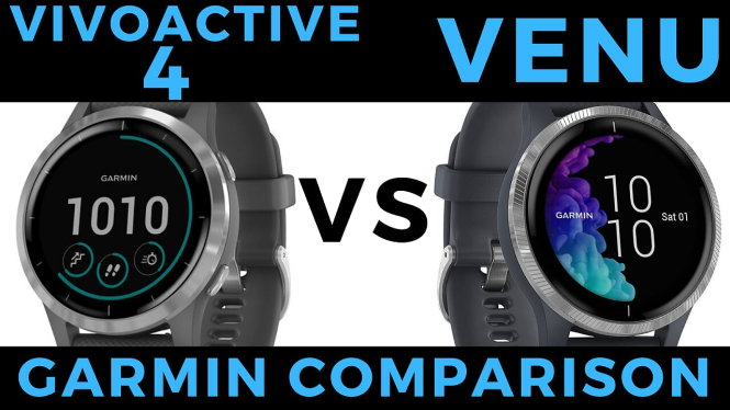 Vivoactive 4 VS Venu - Garmin Smartwatch Comparison and Review (2)