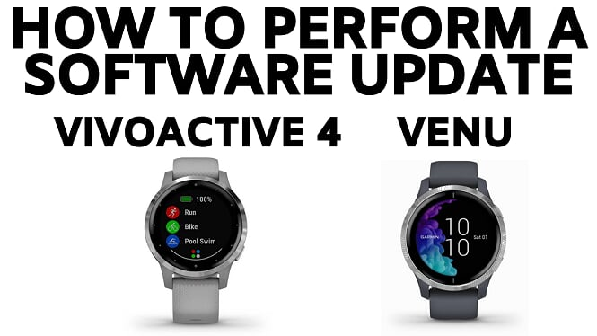 how to update firmware garmin vivoactive 4 venu software blog