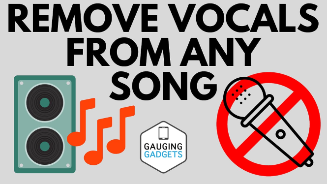 remove vocals from any song free