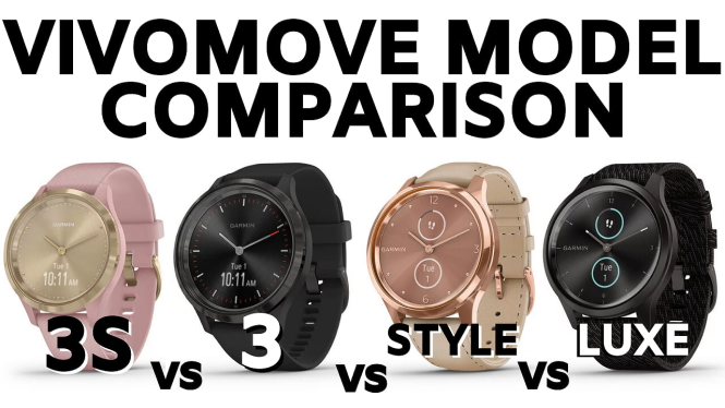 vivomove model comparison 3 3s style luxe