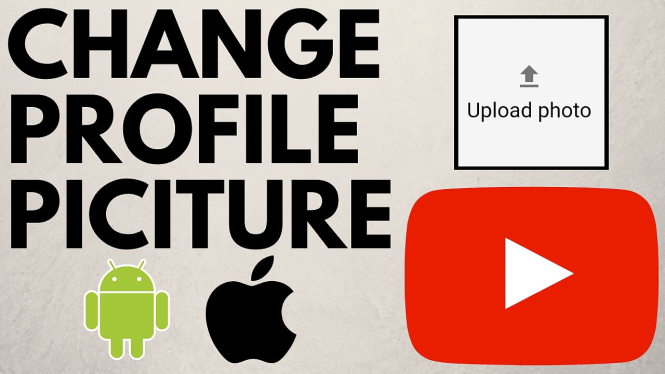 Change Youtube Profile Picture on Android iphone
