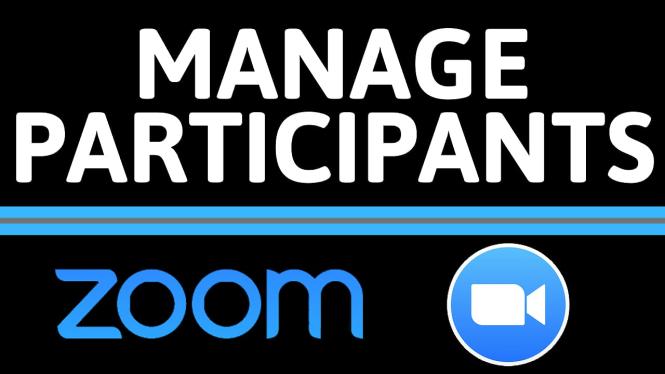 How to Manage Participants in a Zoom Meeting - Mute, Remove, Moderate Participants in Zoom