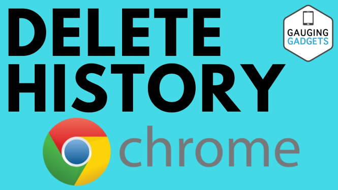 delete chrome browser history