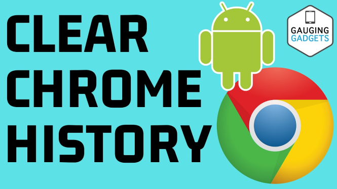 delete google chrome history android