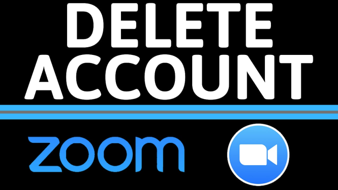 delete or terminate zoom account